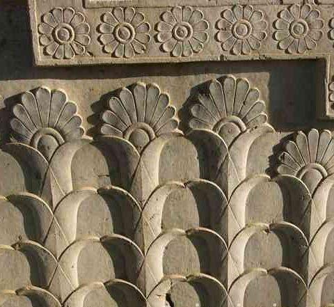 lotus motif in Persepolis as the earliest Persian mandala
