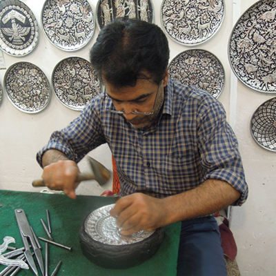 Our Chasing-Repousse Artist