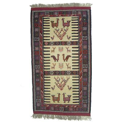 Motifs in Persian Kurdish tribal rugs
