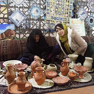 Indigenous pottery in Kalpuregan (Iran)