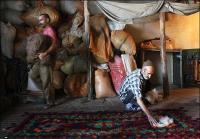 Persian felt rug