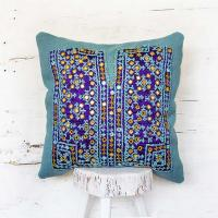 About our tribal needlework pillows