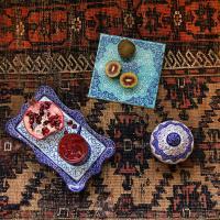 The art of hand painting and enameling, Meenakari