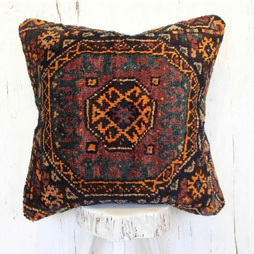 Persian Antique Carpet Pillow
