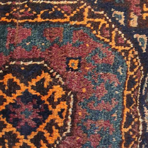 Persian Antique Carpet Pillow carpet pillow3