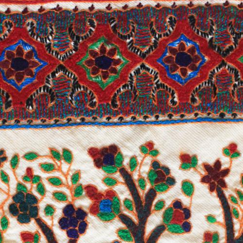 Tree of life hand embroidery tapestry untitled 4