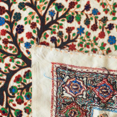 Tree of life hand embroidery tapestry untitled 5