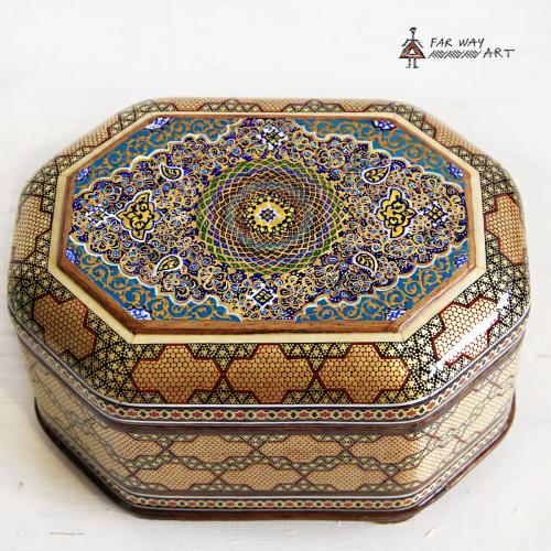 Handmade Wood Marquetry Jewelry Box handmade wood marquetry jewelry box2