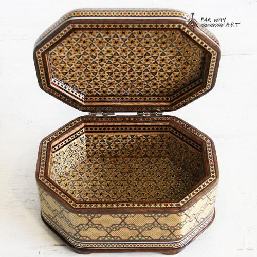 Handmade Wood Marquetry Jewelry Box handmade wood marquetry jewelry box3
