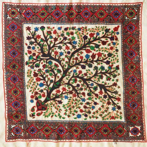 Tree Of Life Hand Embroidery Tapestry