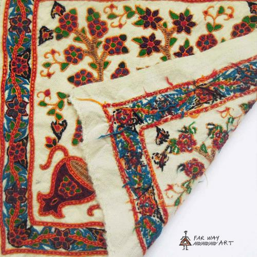Persian traditional hand embroidery (Pateh) hand embroidery pateh farwayart