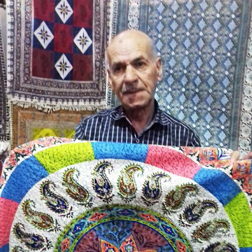 Hand Block Print Mandala Tapestry handblock printing farwayart
