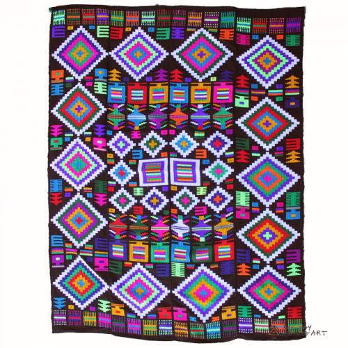 Indigo Hand Woven Tapestry handwoven wall hanging farwayart