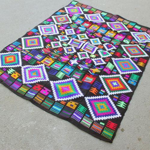 Indigo Hand Woven Tapestry handwoven wall hanging2 farwayart