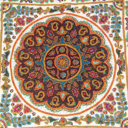 Ethnic Hand Embroidery Mandala Tapestry mandala tapestry2 farwayart