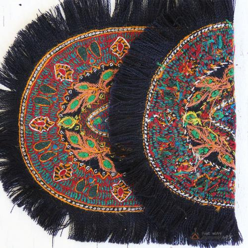 Ethnic Hand Embroidery Textile persian ethnic embroidery textile3 farwayart