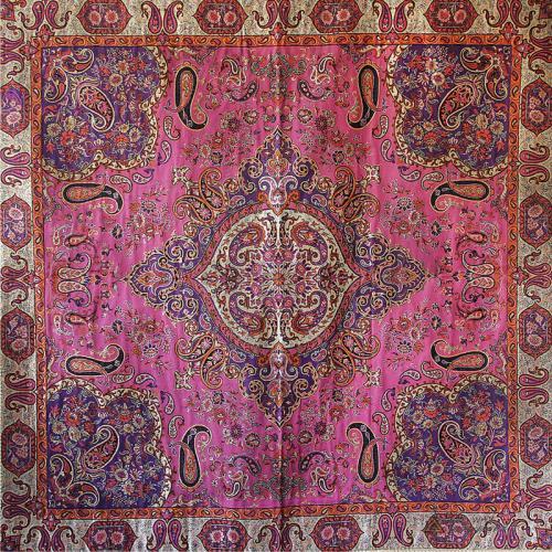 Persian Termeh Textile Mandala Wall hanging