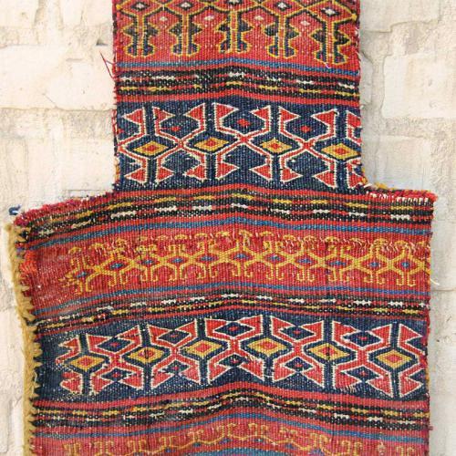 Antique Tribal Decorative Rug Salt Bag antique persian saltbag3 farwayart