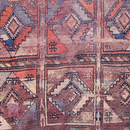 Persian Antique Tribal Rug Wall Hanging antique persian tribal rug wallhanging2 farwayart