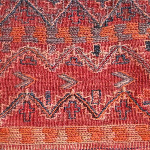 Antique Persian Wall Kilim Salt Bag antique salt bag3 farwayart