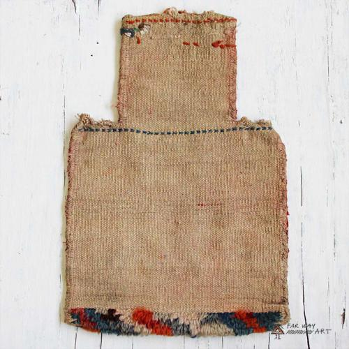 Antique Persian Wall Kilim Salt Bag antique salt bag4 farwayart