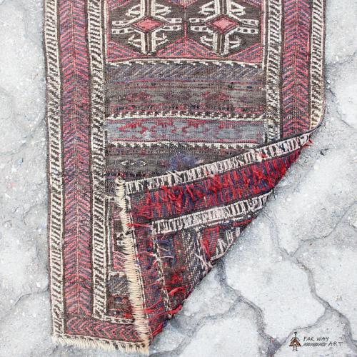 Antique small Persian rug antique small persian rug3 farwayart