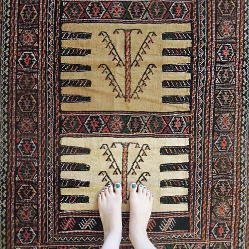 Persian nomadic rug (Kurdish Sofreh) attach_5dc920157249f