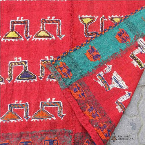 Persian Colorful Nomadic Flat Woven Rug attach_5dc92c6c00a22