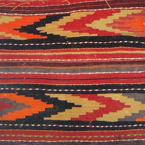 Persian tribal Rug Saddle Bag bohemian motif farwayart