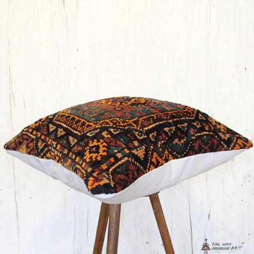 Persian Antique Carpet Pillow carpet pillow4 farwayart
