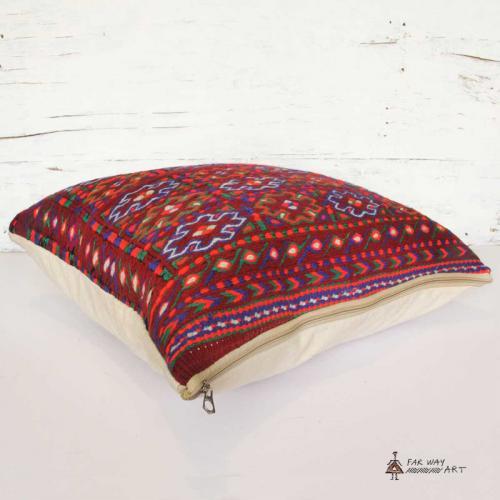Large Kilim Rug Pillow Cover floor kilim pillow farwayart
