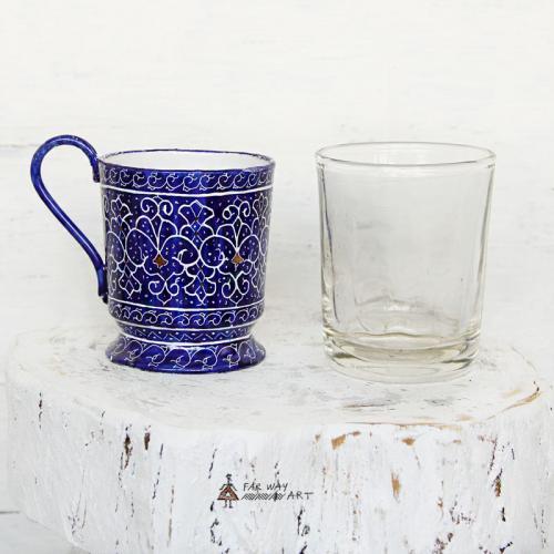 Meenakari Tea Set meenakari tea set farwayart3