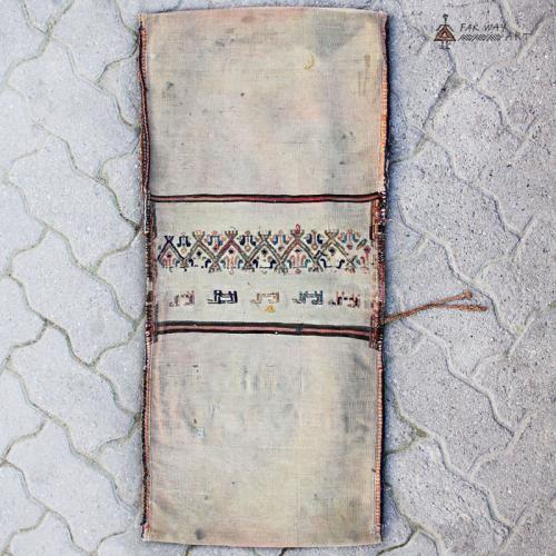 Antique Turkmen Nomad Saddle Bag Rug nomadic saddle bag rug4 farwayart