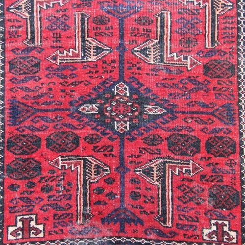 Antique Baluch Tribal Rug / Wall Art persian antique rug farwayart2