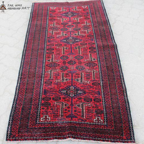 Antique Baluch Tribal Rug / Wall Art persian antique rug farwayart3