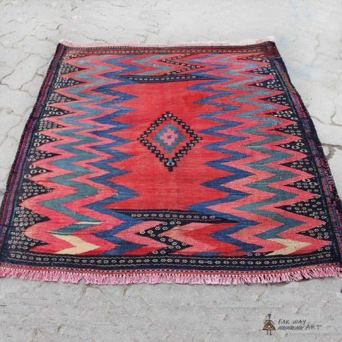 Persian Antique Tribal Rug (Baloch Sofreh) persian antique rug2 farwayart
