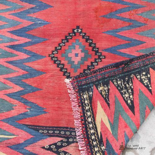 Persian Antique Tribal Rug (Baloch Sofreh) persian antique rug3 farwayart