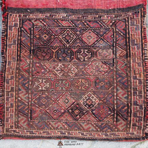 Persian Antique Saddle Bag Rug persian antique saddlebag rug5 farwayart