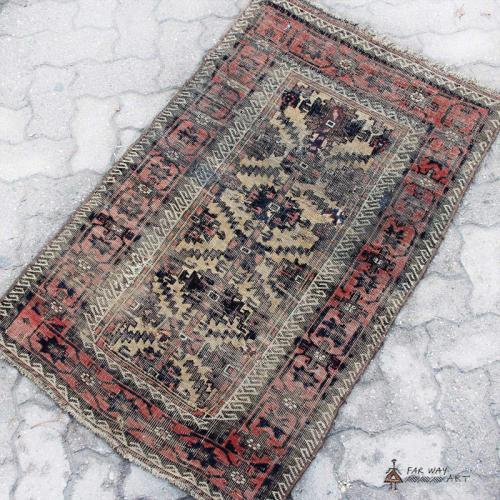 Persian Antique Medium Size Carpet persian antique small carpet2 farwayart