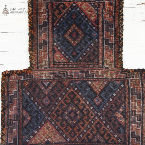 Persian Antique Tribal Salt Bag persian antique tribal salt bag farwayart2