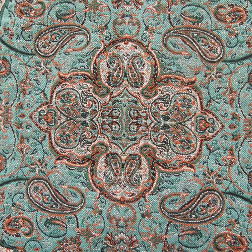Persian Termeh pillow cover persian green termeh farwayart