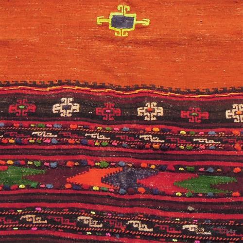 Square Tribal Rug Wall Hanging persian rug3 farwayart