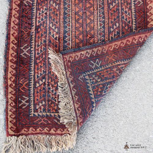 Persian Small Semi-antique Carpet persian small carpet3 farwayart