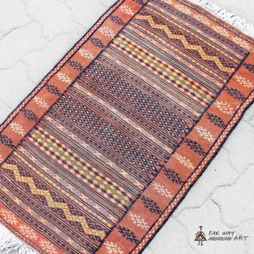 Small Semi Antique Pink Rug persian small rug2 farwayart