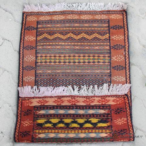 Small Semi Antique Pink Rug persian small rug4 farwayart