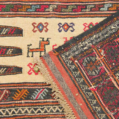 Persian Tribal Rug (Kurdish Sofreh) persian tribal rug kurdish sofreh3 farwayart