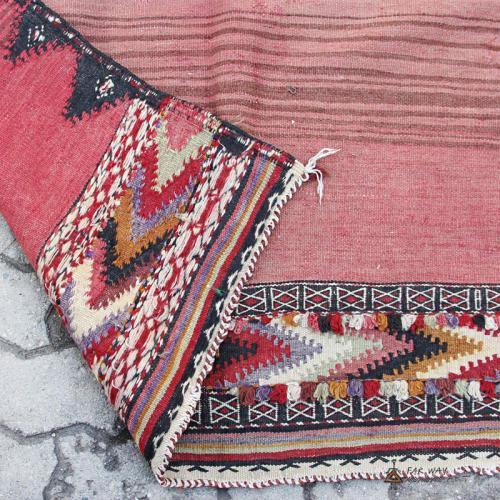 Pink Antique Persian Tribal Rug pink persian tribal rug7 farwayart
