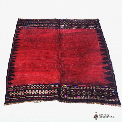 Antique Persian tribal rug (Baluch sofreh) rug farwayart