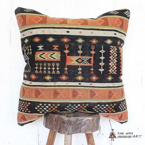 Persian Vintage Kilim Pillow Cover