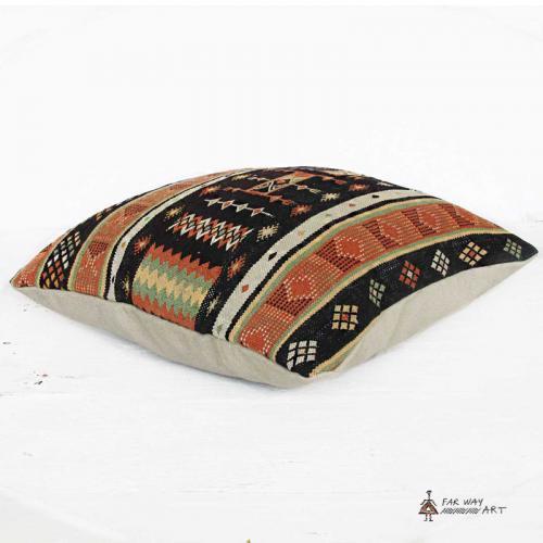 Persian Vintage Kilim Pillow Cover rug pillow2 farwayart